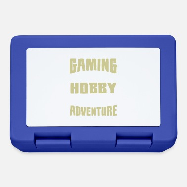 Gaming is not a Hobby, Its an Adventure - Lunchbox