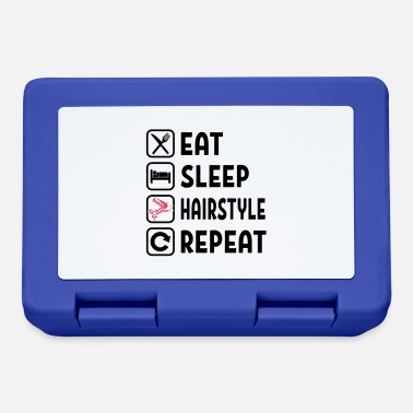 Skirt Eat Sleep Hairstyle Repeat - Lunchbox