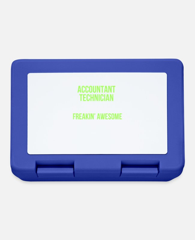 Accountant Lunchboxes - Accounting technician - Accountant technician - Lunchbox royal blue