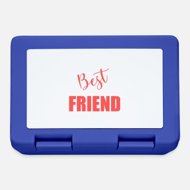 Friend BEST FRIEND. Friend. Friend. Friend. Best. Humor. - Lunchbox