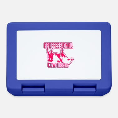 Cows Schubsen Cow Pushing Cow Push Cow Tipping Gift - Lunchbox