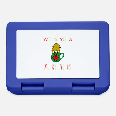 Merry We Wish You A Merry Cactus - Small Christmas - Lunchbox