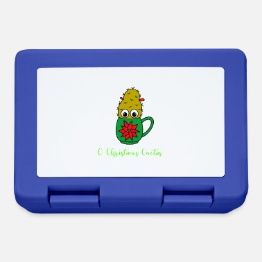Kawaii O Christmas Cactus - Piccolo cactus di Natale dentro - Lunch box