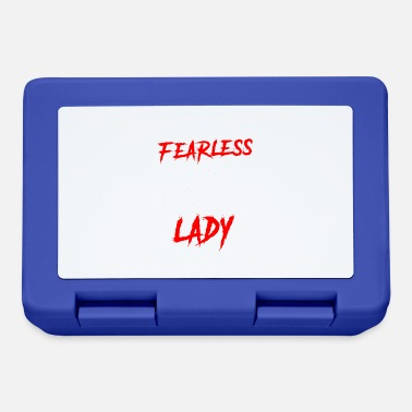 Fearless Fearless lady - Lunchbox