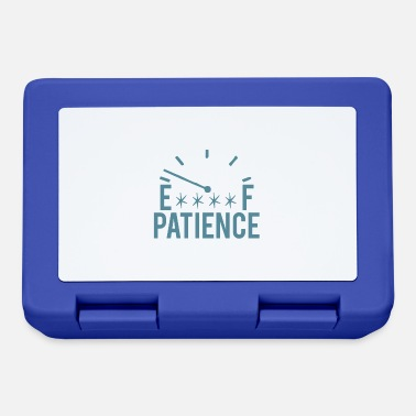 Patience patience - Lunchbox