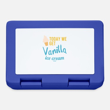 Eat National Vanilla Ice Cream Day saying - Lunchbox
