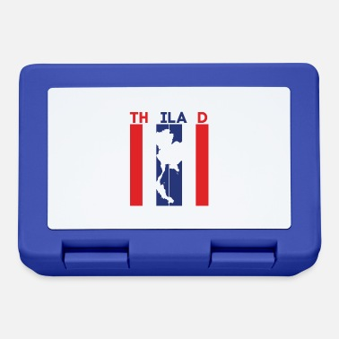 thailand national border and flag - Lunchbox
