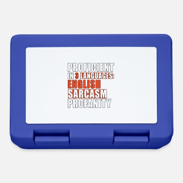 Profanity master profanity sarcasm English - Lunchbox