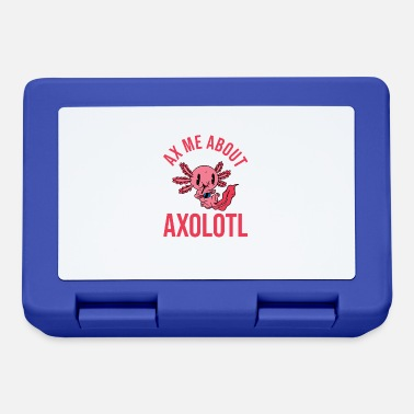 Acquario Axe Me Informazioni su Axolotl Netter Kawaii Messicano - Lunch box