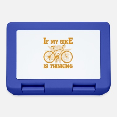 Bicycle cyclist bike great idea for biker cyclist - Lunchbox