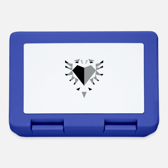 Kosovo Lunchboxes - Shqiponja (origami) - Lunchbox royal blue