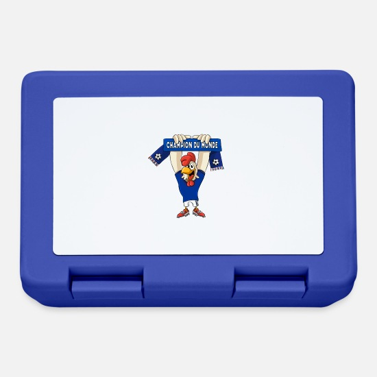 World Championship Lunchboxes - France world champion - Lunchbox royal blue