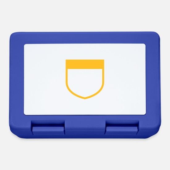 Symbol  Lunchboxes - emblem - Lunchbox royal blue