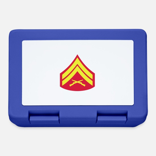 Soldier Mision Militar Lunchboxes - Corporal Cpl, Mision Militar ™ - Lunchbox royal blue