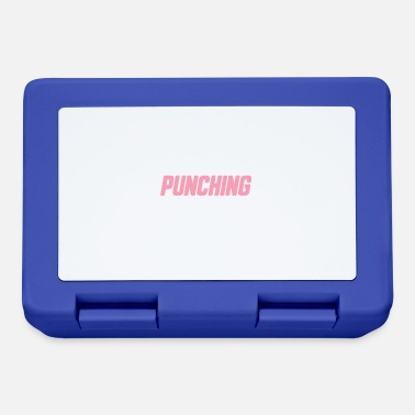 Frowned Upon I Workout Because Punching People Is Frowned Upon - Lunchbox
