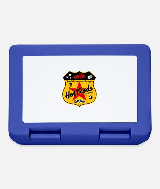 Rod Lunchboxes - hot rods factory - Lunchbox royal blue