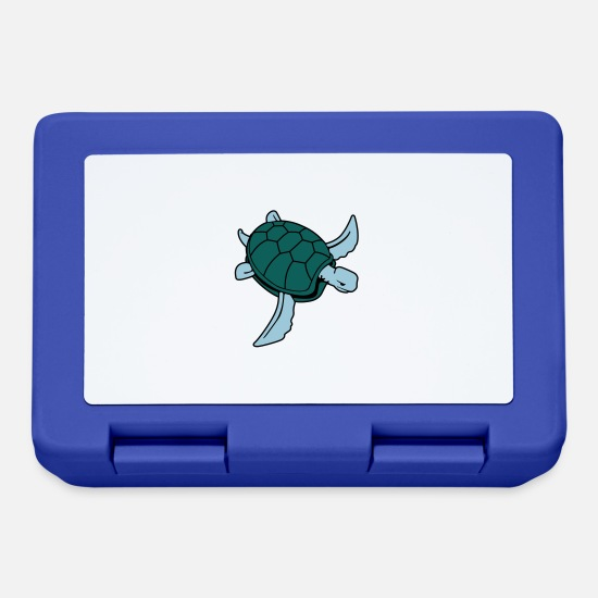 Turtle Lunchboxes - Sea Turtle - Lunchbox royal blue