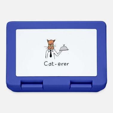 Playing With Words cat-erer hand drawn - Lunchbox