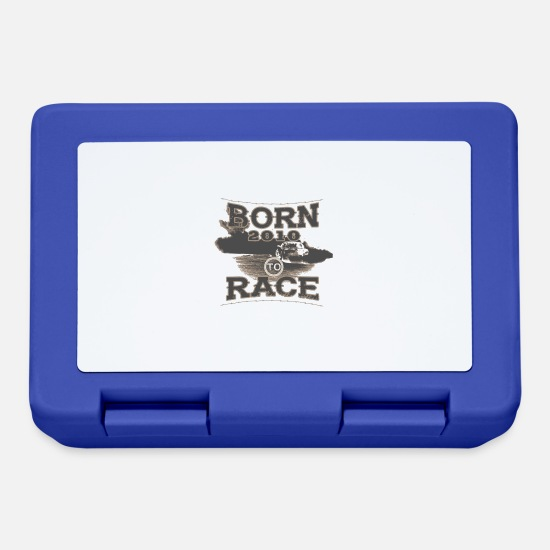 Birthday Lunchboxes - born to racerracer racing tuning 2010 - Lunchbox royal blue