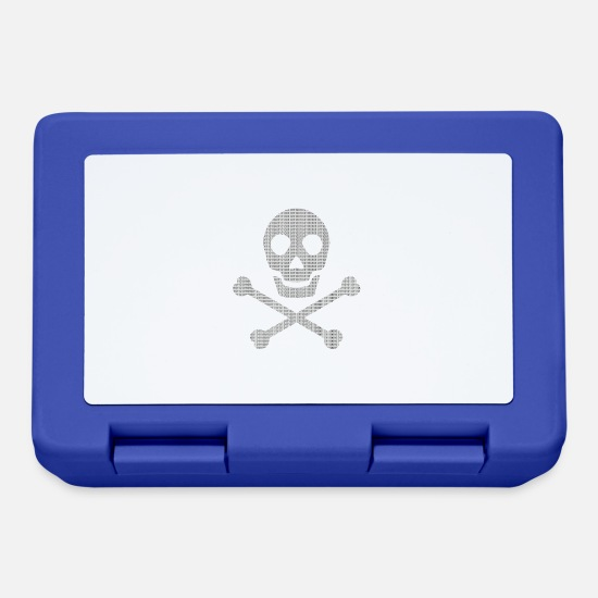 Game Lunchboxes - virus - Lunchbox royal blue