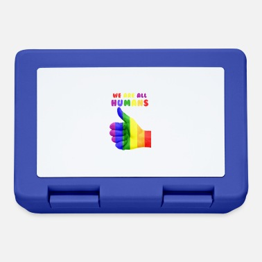 Gay Rights Gay Rights - We are all humans - Lunchbox