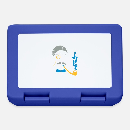Music Lunchboxes - Sir Smoke-A-Lot - Lunchbox royal blue