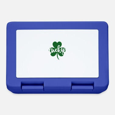 Day Lucky Glitter Clover St. Patrick's Day grappig - Broodtrommel