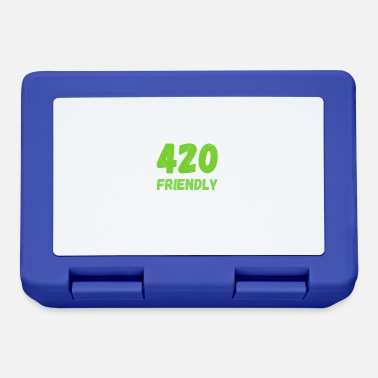 420 2018 420 Friendly - Grass Ween Kiffen hemp gift - Lunchbox