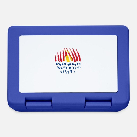 Rift Lunchboxes - Claw claw home origin Kiribati png - Lunchbox royal blue