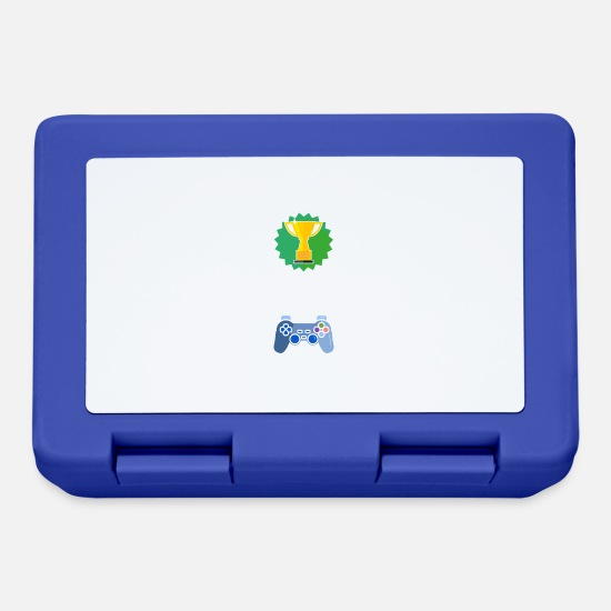 Gift Idea Lunchboxes - Level Unlocked Back to School Gamer Gift Gaming - Lunchbox royal blue
