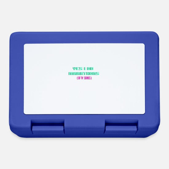 Tv Lunchboxes - TV - TV Shows - Marathons - Shows - Sports - Lunchbox royal blue