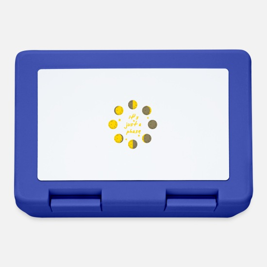 Milky Way Lunchboxes - it's just a phase astronomy star physics galaxy - Lunchbox royal blue