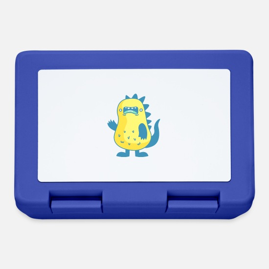 Wife Lunchboxes - monster - Lunchbox royal blue