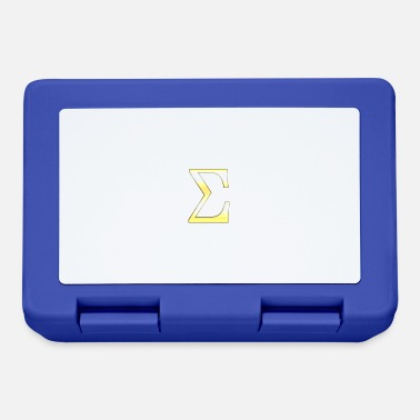 Sigma Sigma in oro - Lunch box