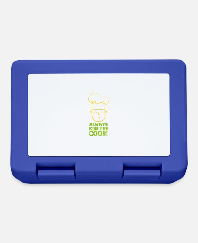 Occupation Lunchboxes - Cook cook - Lunchbox royal blue