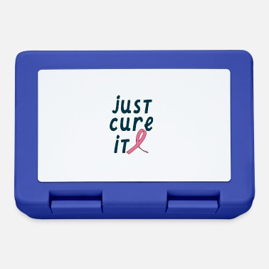 Breast Cancer Walk Just Cure It - Breast Cancer Awareness - Lunchbox