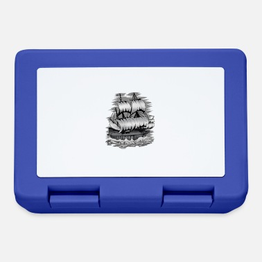 Captain Galleone ship sailor Ahoy Maritime seafaring - Lunchbox