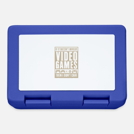 Game Lunchboxes - video game enthusiast - Lunchbox royal blue