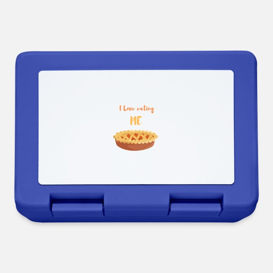 Gift Idea Lunchboxes - Strudel cake - Lunchbox royal blue