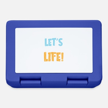 Power Let's enjoy life - Lunchbox