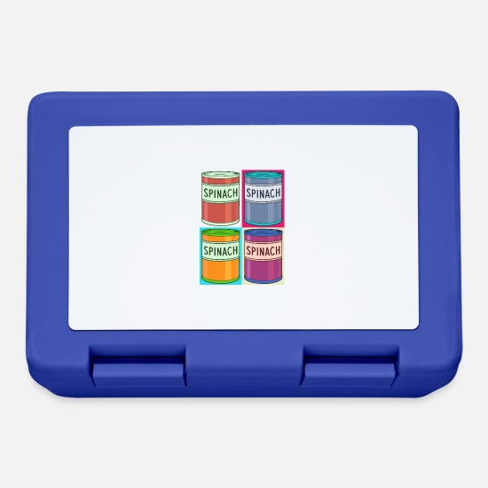 Funky Lunchboxes - POPeye - Lunchbox royal blue