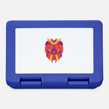 Vibrant VIbrant Lion Head - Lunchbox