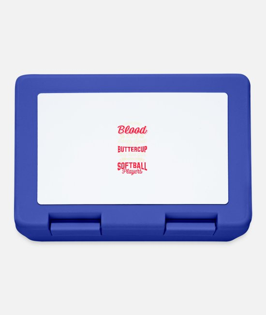 Stadium Lunchboxes - Softball - Lunchbox royal blue