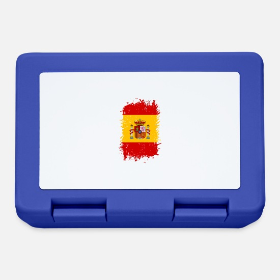 Spain Lunchboxes - Spain - Lunchbox royal blue