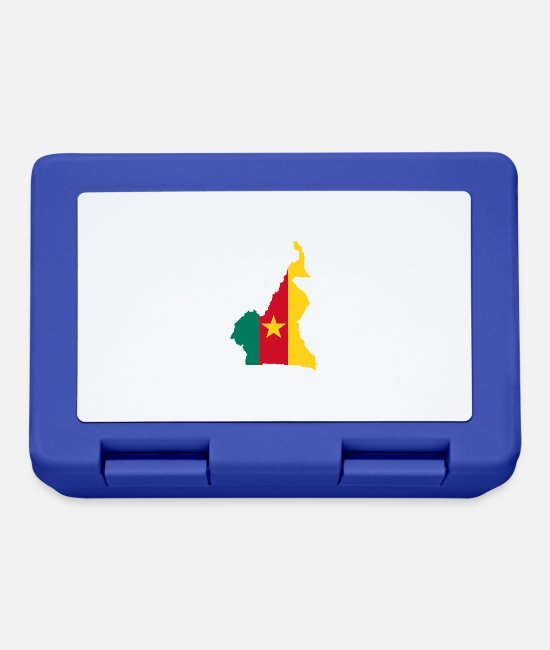 Play Lunchboxes - Cameroon - Lunchbox royal blue