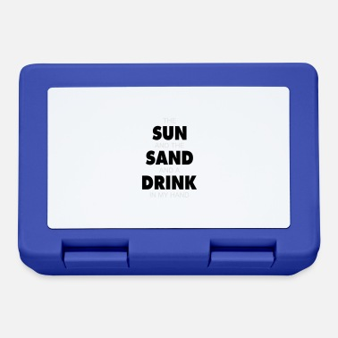 Sand The sun and the sand - Lunchbox