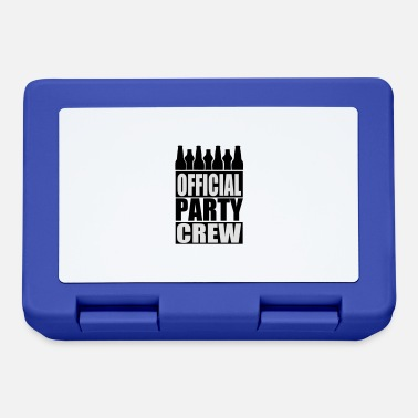 Party Official Party Crew - Lunchbox