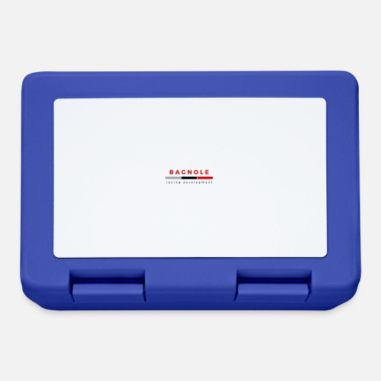 Auto Lunch boxes - auto - Lunch box blu royal
