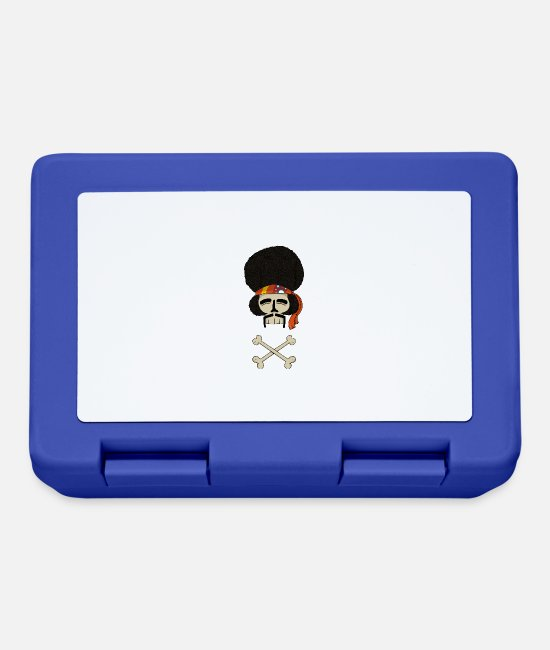 Hippy Lunchboxes - Dead Jimi - Lunchbox royal blue