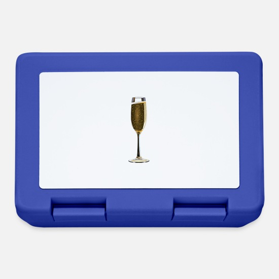 Champagne Lunch boxes - champagne - Lunch box blu royal
